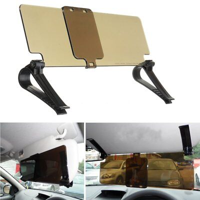 Car Anti-Glare Clip-on Sun Shade Visor Extension Clip Reducer Driving Protector