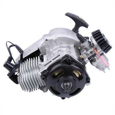 Pull Start Motor Engine 49cc 2-Stroke Fits Mini Pocket Quad Scooter ATV Buggy