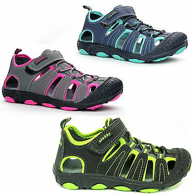 High Quality Brands Sandal Kids Shoes Trekking Nubuck Leather Boys Girls