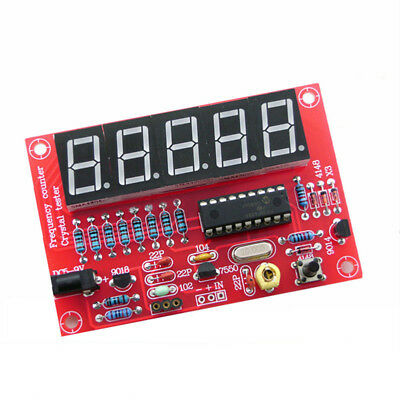 NEW Digital LED 1Hz-50MHz Crystal Oscillator Frequency Counter Meter Tester Kit