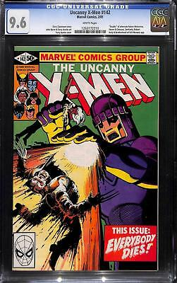 Uncanny X-Men #142 CGC 9.6 Days of Future Past