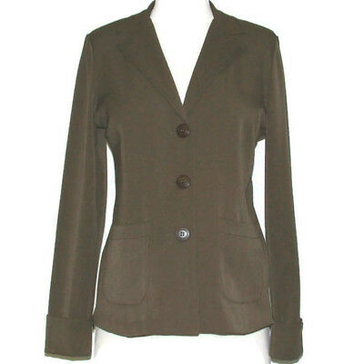 New Career Twill Jacket Pleated Skirt Suit Set Duet Designs Maternity Size S