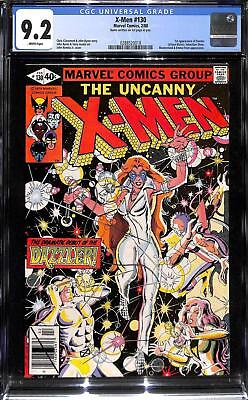 Uncanny X-Men #130 CGC 9.2 1st App of Dazzler (Allison Blaire)