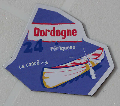 24 Dordogne D'armor Magnet Le Gaulois Carte Nouvelle Collection Departaimant