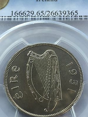 1951 IRELAND FLORIN - MS 65 !! Wow
