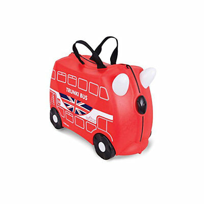 Valigia Cavalcabile Boris London Bus Rossa Trunki - TR0186GB