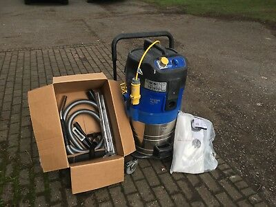 Wet and Dry Vacuum Cleaner. Nilfisk Alto Attix 761-21 XC. 110v Industrial Hoover
