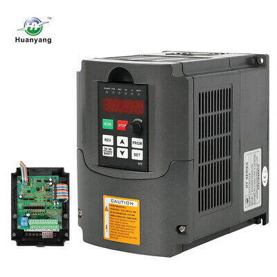 220V 4KW 5HP Variable Frequency Drive Inverter VFD Huanyang CNC