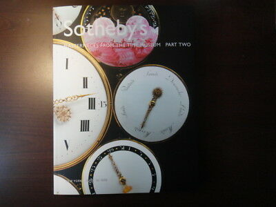 "Sotheby's ""Masterpieces from the Time Museum Part Two,"" 2002, superb timepieces"