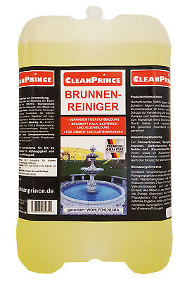 5 Liter Fountain Cleaner Algae Water The Pure Cleaning
