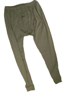 Brand New Genuine Issue Long Johns FR AFV Crews Olive Green X-Large