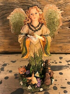 Boyds Charming Angels Collection Floramella, Guardian of Nature, Style #28223