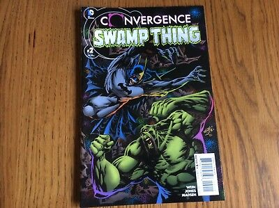 Convergence - Swamp Thing #2 - American Edition