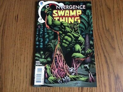 Convergence - Swamp Thing #1 - American Edition