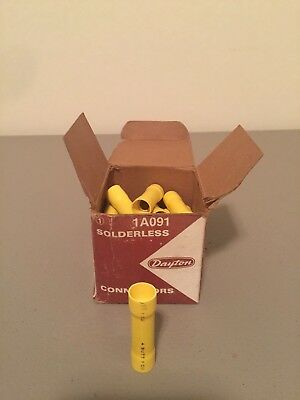 New In Box Dayton Solderless Connectors 1A091 Box Of 20