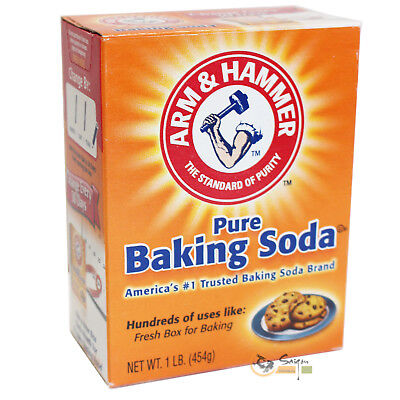 (4,40 EUR/kg) 10x454g Arm & Hammer Baking Soda Backsoda Original aus USA