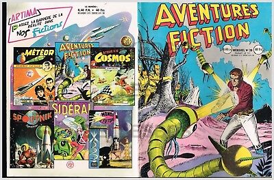 Aventures Fiction - Artima -    N° 20    11/1959   Be+/Tbe
