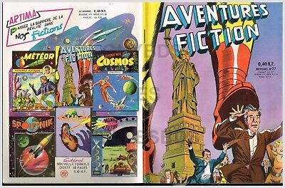 Aventures Fiction - Artima -    N° 27    06/1960   Be+/Tbe