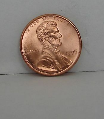1995 Lincoln Memorial Cent Double Die Liberty -- Error Coin - Great Penny 1995