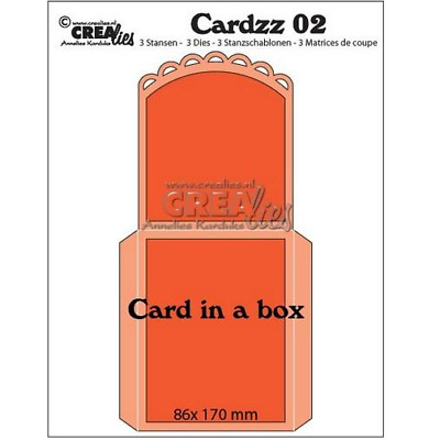 Crealies Cardzz no 2 Card in a box CLCardzz02 345102