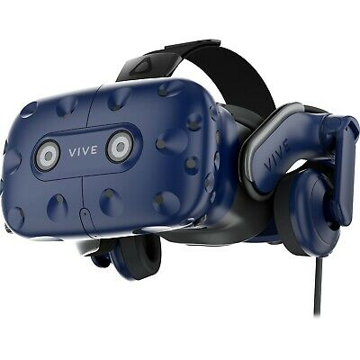 HTC Vive Pro Virtual Reality Headset VR 3D Display Video Gaming Glasses HMD
