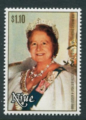 Niue: 1980 80th Birthday of Queen Mother $1.10 stamp SG364 MNH AN242