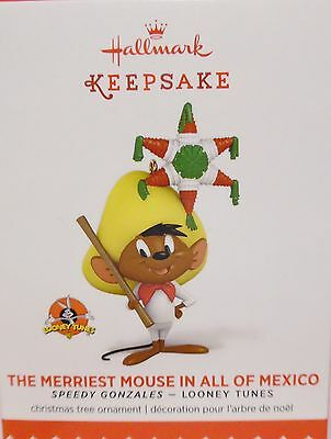 HALLMARK 2015 The Merriest Mouse in all Mexico Speedy Gonzales NEW