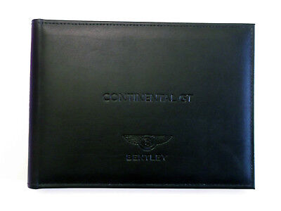 2012 Bentley GT Canadian English Owner Manual!