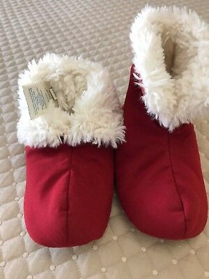 Pottery Barn Kids Red Slippers Size Medium