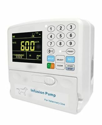 Veterinary Infusion Pump - IV Pump compact  < 2.7 #  with 18 mo warranty **NEW**