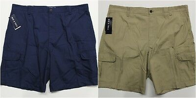 6ef43404fa MEN'S CHAPS BIG & Tall Cotton Ripstop Cargo Shorts (21702T) - $28.34 ...
