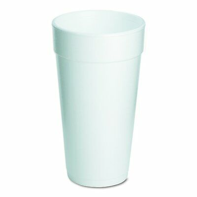 Dart 20J16 Foam Drink Cups, 20oz Case of 500