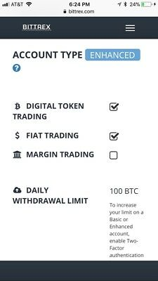 Bittrex Verified Account!!