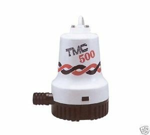 New TMC Bilge Pump 131600 500GPH 12V