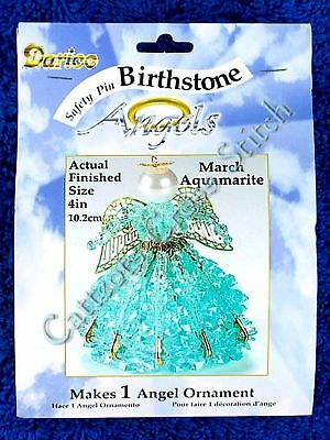 Angel Birthstone Bead Kit #03 ~ March / Aquamarite