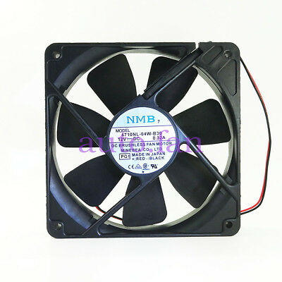 For NMB 4710NL-04W-B30 12V 0.32A 12CM 12025 Double Ball Cooling Fan