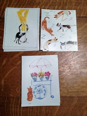 Cat Note Cards-WIFCaP Free shipping!