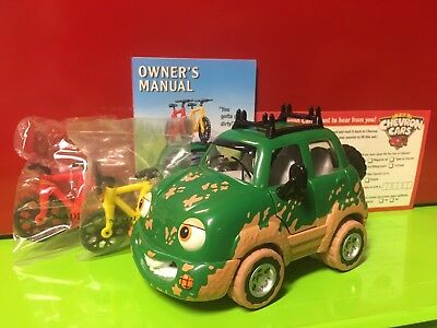 Vintage 1996 Cheveron Cars Freddy 4-Wheeler New Old Stock Gas Station Toy
