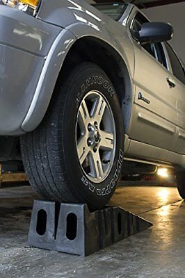 Portable Car Repair Auto Vehicle Service Drive on Ramps Rugged Structural Design