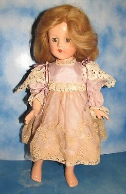 Vintage Effanbee 21in Jointed Doll Good Condition