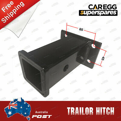 2 Inch Long Trailer Hitch Receiver Tube Boat Tow Hitch 4WD 1300kg+