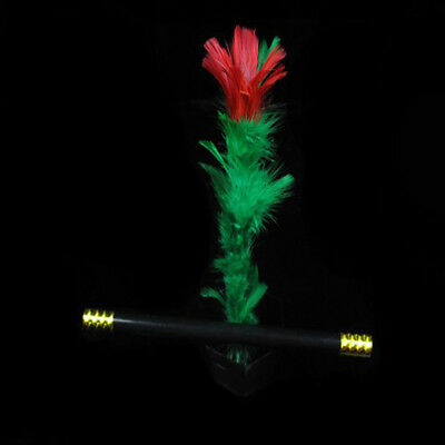 Gift Fun Magic Trick Party Prop Show Stage Toy Flower Feather Sticks