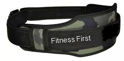 Womens Neoprene Weight Lifting Belt Back Support Ladies Gym Training Fitness
