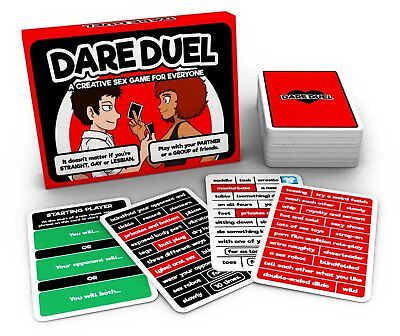 Dare Duel - A Hot Truth or Dare Game for Couples or Groups - Valentines Treat!