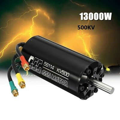 SSS 56114/500KV Brushless Motor 6 Poles W/O Water Cooling For RC Marine Boats