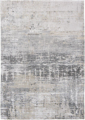 Atlantic Streaks CONEY GREY 8716 Louis de Poortere Deco Modern Distres Faded Rug