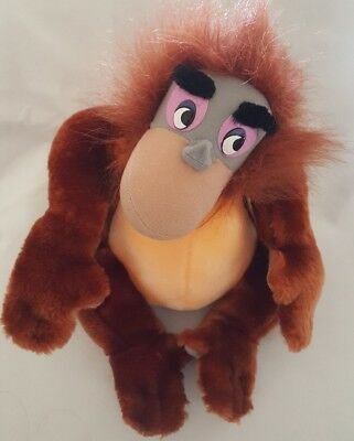 "The Jungle Book .. Walt Disney Company .. King Louis  ..10"" .. Classic Soft Toy"