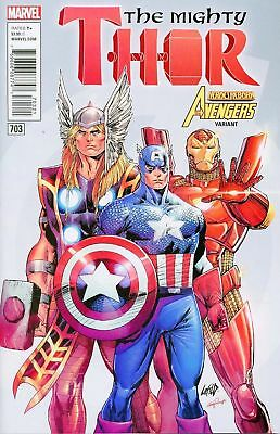The Mighty Thor Issue 703 - Rob Liefeld Heroes Reborn Avengers Variant Cover