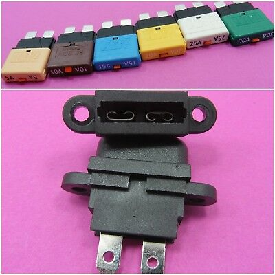 Standard Blade Fuse Holder + Resettable Fuse iATY by Choice Car Cover