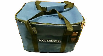 """12"""" inch Blue Sandwich Delivery Bag"""